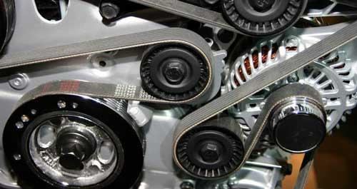 Serpentine belt inspection